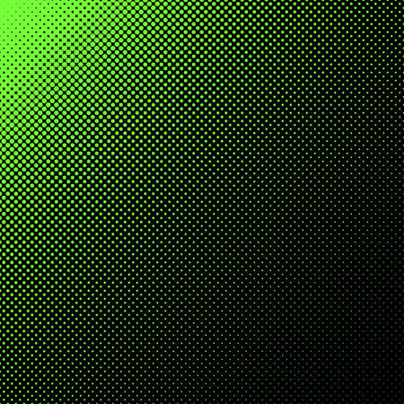 Geometric halftone dot pattern background - vector graphic from circles in varying sizes Stock Illustratie
