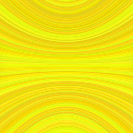 Abstract symmetrical motion background graphic from thin yellow curved lines