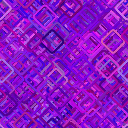 Purple seamless abstract square pattern background - vector illustration from diagonal squares