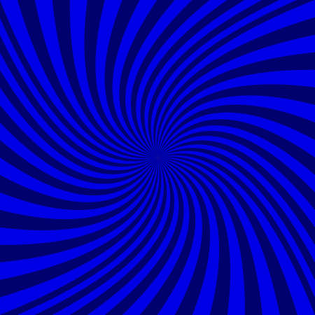 Abstract spiral background - vector graphic from rotated rays