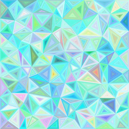 Light irregular triangle mosaic tile background Illustration