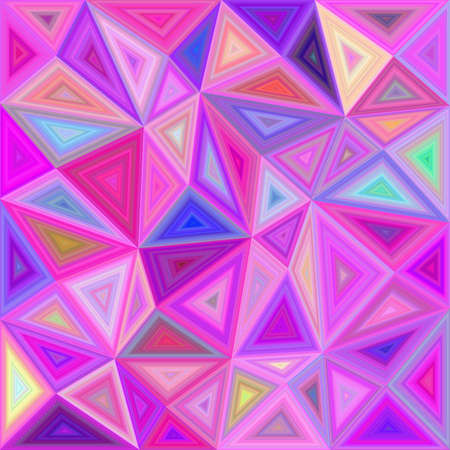 chaos: Pink vector triangle mosaic background design