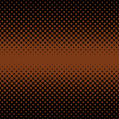 vector raster background: Geometric halftone dot background - vector graphic from circles in varying sizes
