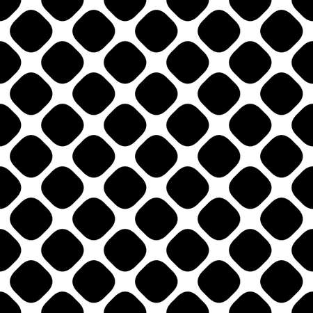 Abstract monochrome square pattern graphic from diagonal rounded square dots