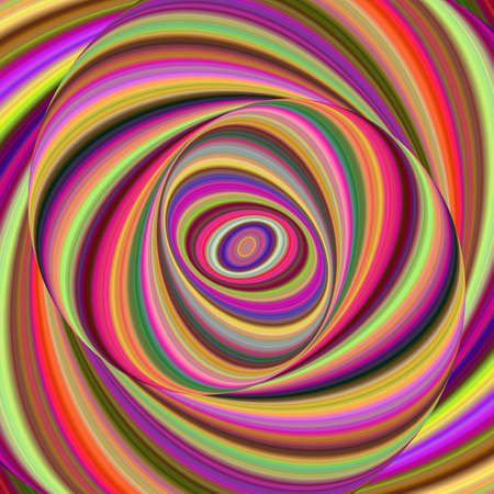 Colorful ellipse digital art