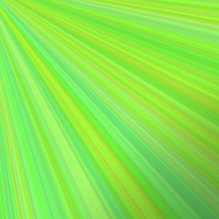 Abstract sun light background - vector design from rays in green tones Illustration