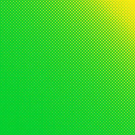 Green dot pattern. Illustration