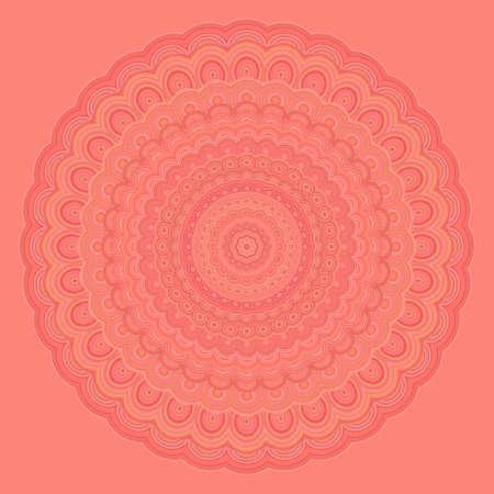 Bohemian mandala round symmetry pattern.