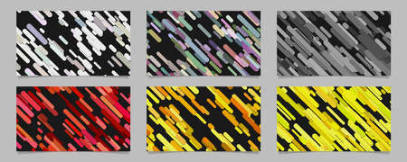 Geometrical random rounded diagonal stripe pattern .