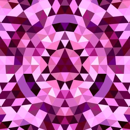 Abstract Geometric kaleidoscope mandala pattern