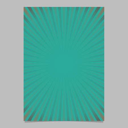 Abstract gradient sunray brochure.