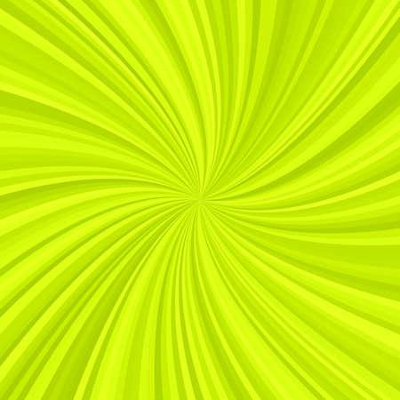 Abstracte spiraalvormige stralenachtergrond van radiale wervelende strepen - vectorillustratie