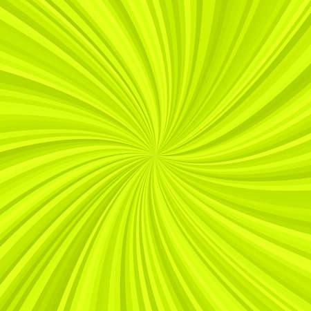 Abstract spiral rays background from radial swirling stripes - vector illustration