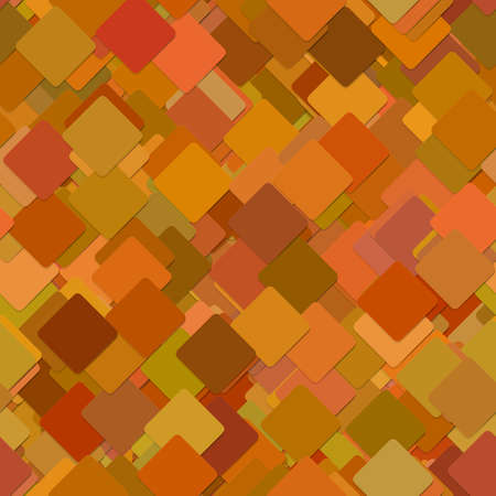 Seamless abstract technology concept background - pattern from diagonal rounded squares - vector design Illustration