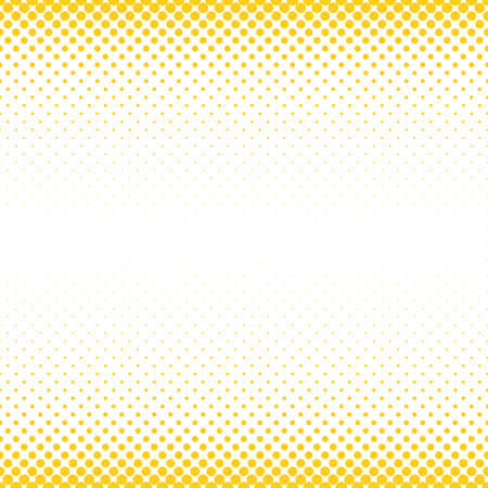 Abstract halftone dot pattern background - vector graphic from circles in varying sizes Vettoriali