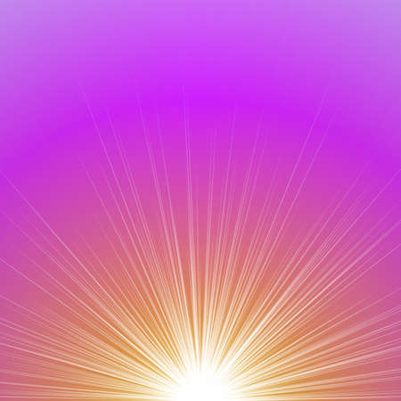 Abstract blurred gradient sunrise concept background - vector graphic design Ilustrace