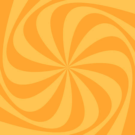 Abstract swirl background - vector illustration from spinned rays