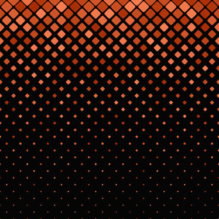 Abstract geometric diagonal rounded square pattern background - vector graphic.