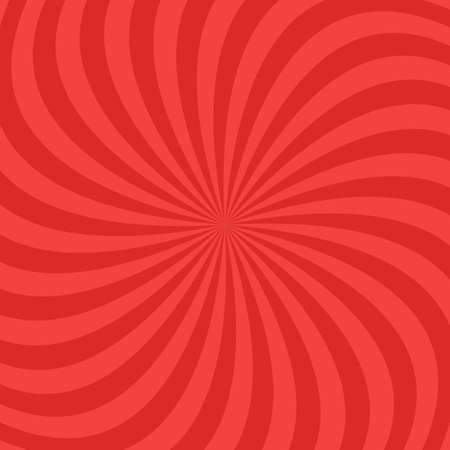 Red abstract spiral ray pattern background