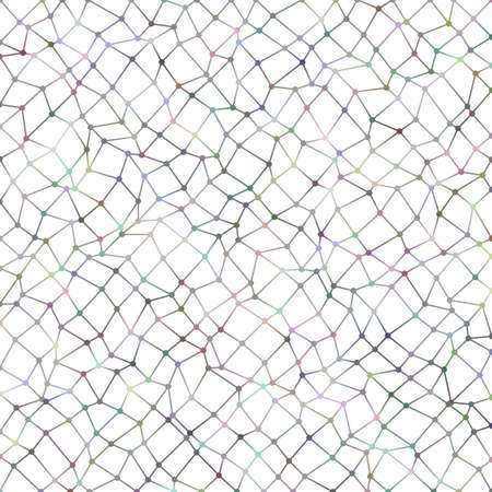 Abstract irregular polygon grid pattern background - vector graphic