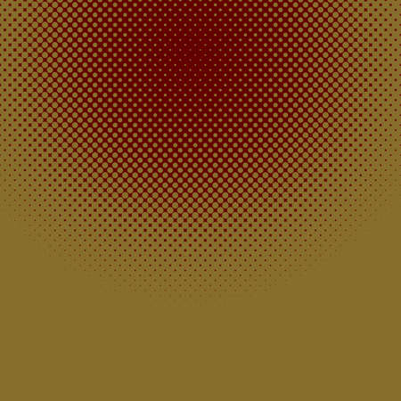 Abstract geometric halftone dot pattern background vector illustration from circles.