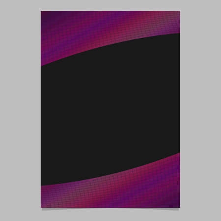 Abstract modern colored gradient grid page template - vector brochure background graphic design Illustration