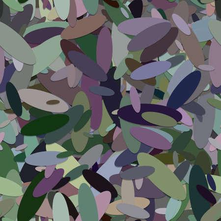 Seamless chaotic ellipse background pattern