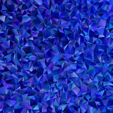 Geometric abstract polygonal background design in dark blue tones Иллюстрация