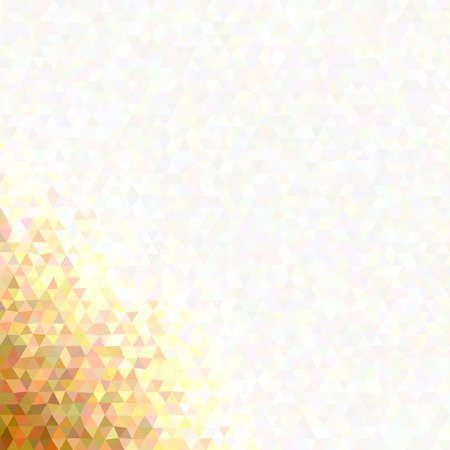 Gradient retro triangle polygon background with opacity effect 矢量图像