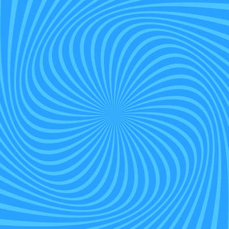 Light blue apiral abstract background - vector design Ilustrace