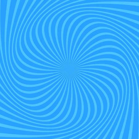 Light blue apiral abstract background - vector design Vettoriali