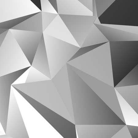 résumé géométrique triangle chaotique motif de fond - vecteur conception graphique