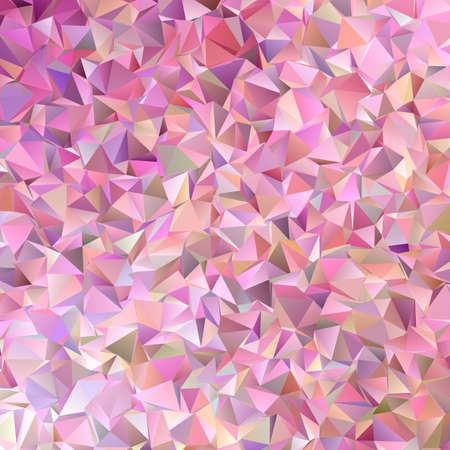 Geometric retro triangular background design - abstract vector graphic Illustration