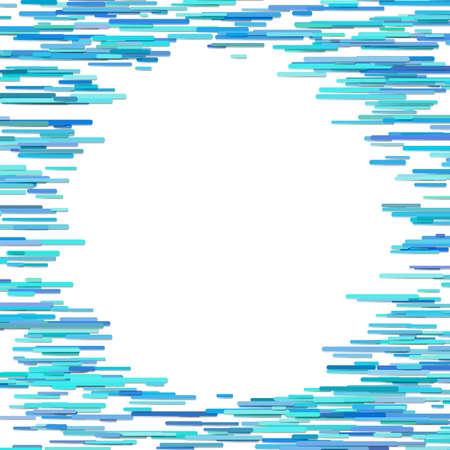 Horizontal stripe design background - blank vector border graphic
