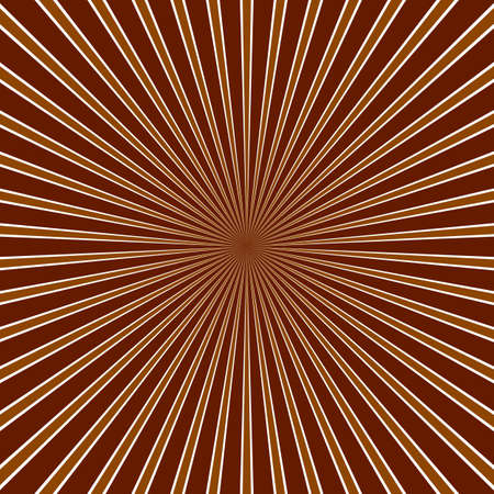 Abstract ray background - hypnotic vector illustration from striped rays