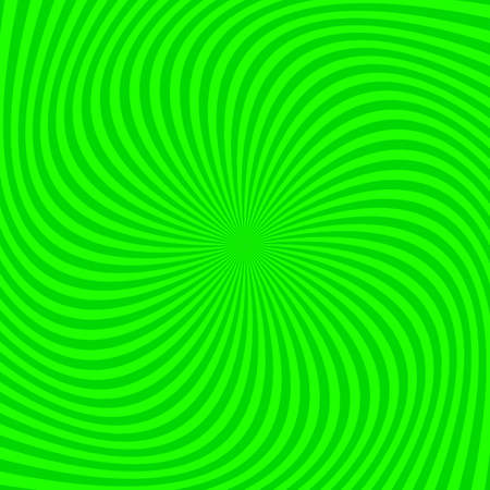 Geometric spiral background - vector graphic from twisted rays Ilustração