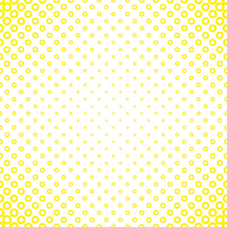 Abstract geometric halftone circle pattern background - vector design from rings in varying sizes Illustration