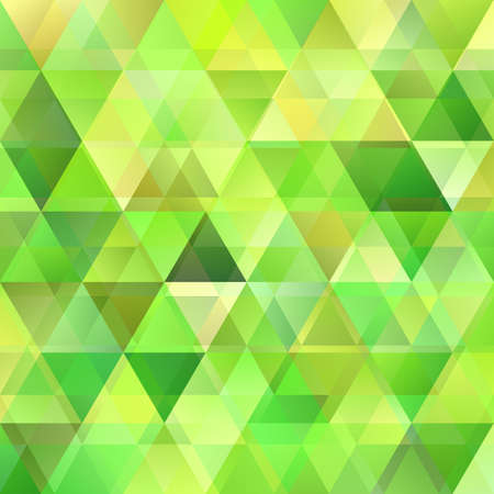 Green geometric abstract polygonal triangle background template design