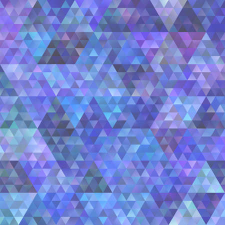 Abstract gradient triangle pattern background - vector graphic design Иллюстрация