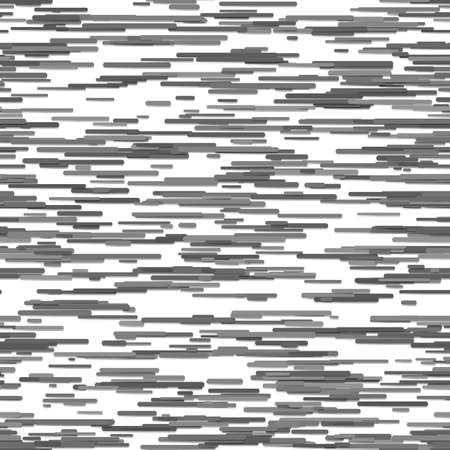 Repeating abstract irregular horizontal stripe pattern background - vector illustration