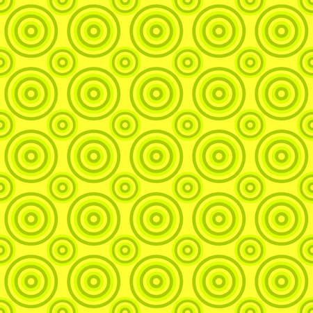 Lime color seamless abstract circle pattern background - vector illustration