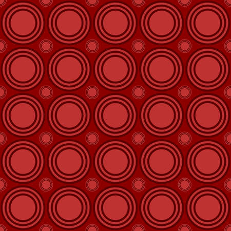 Simple repeating pattern - vector circle design background Illustration