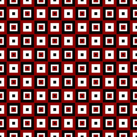 Abstract seamless square pattern design background - color vector illustration