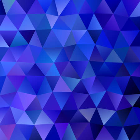 Abstract geometric gradient triangle pattern background - vector graphic design
