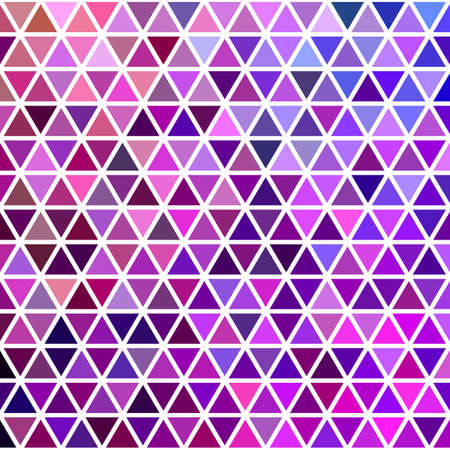 Geometric abstract purple toned triangle polygon pattern background design