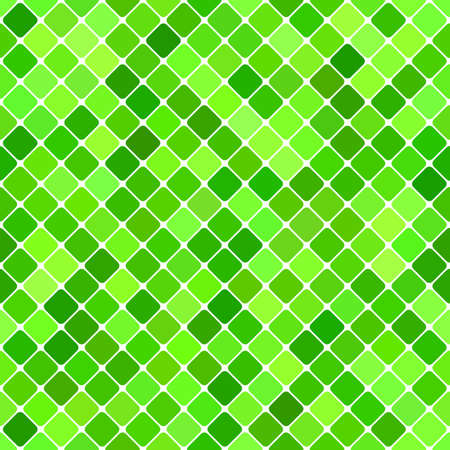 Green abstract seamless diagonal square pattern background design - vector graphic