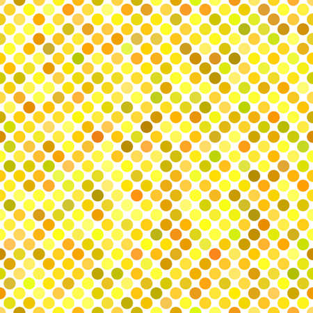 Colorful seamless dot pattern background - vector graphic design Illustration