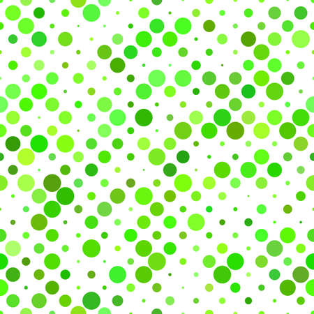 Green geometrical circle pattern background - repeating graphic design Illustration