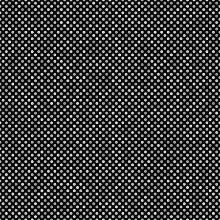 Geometrical dot pattern background - repeatable graphic design in grey tones