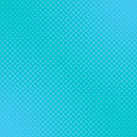 Light blue geometric halftone dot pattern background - vector illustration from circles